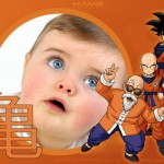 Collage de fotos con Dragon Ball Z
