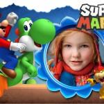 Crea fotomontajes  con Super Mario