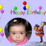 Fotomontajes de cumpleaños gratis para fotos