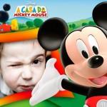 Crear fotomontaje con Mickey Mouse