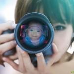 Fotomontajes en lentes de cámaras