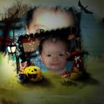 Crea fotomontajes de Halloween