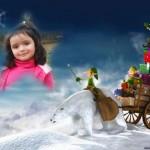 Crea fotomontajes de navidad gratis