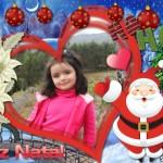 Edita tus fotos gratis con iconos navideños