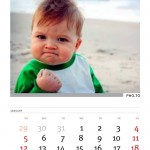 Crea calendarios del 2014 en Funny.Photo.com