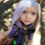 Fotomontajes de rostros con lindas muñecas