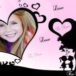 Crea y personaliza fotomontajes de amor