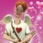 Disfrázate de cupido por San Valentín