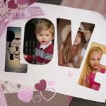 Decora tus fotos con fotomontajes de amor