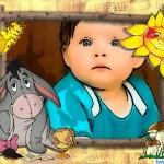 Fotomontajes infantiles con los personajes de Winie Pooh