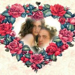 Fotomontajes de amor con lindos corazones