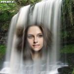 Montajes para fotos en cascadas