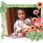Marcos para fotos con adornos florales