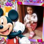 Marco para fotos infantil con Mickey Mouse