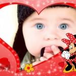 Fotomontajes de amor con Minie Mouse