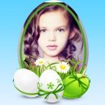 Fotomontaje gratis con huevos de Pascua