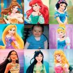 Marco para fotos con las princesas de Disney