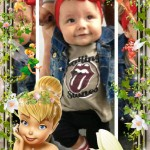 Marco para fotos infantil con Tinker bell