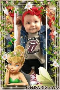 Marco Para Fotos Infantil Con Tinker Bell Fotomontajes Gratis