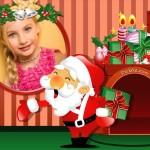Fotomontaje de navidad gratis con Papá Noel