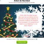 Carta virtual de navidad en Pixiz.com