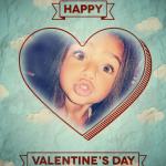 Fotomontaje deseando Feliz Día de San Valentin