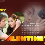 Calendario de amor del mes de Febrero