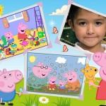 "Fotomontaje infantil con ""Peppa Pig"""