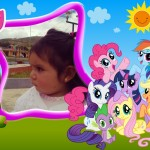 Fotomontaje infantil con My Little Pony