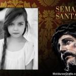 Marco para fotos con Jesús en Semana Santa