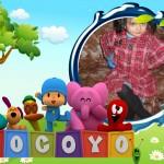 Montaje infantil gratis con Pocoyo