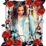 Decora tu foto con un marco de rosas, te quedaras perpleja con los resultados