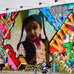 Tu puedes ser famoso con este creativo montaje en Graffiti