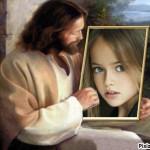 Fotomontaje gratis con la imagen de Jesús