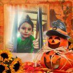 Divertidos y coloridos marcos de halloween para fotos