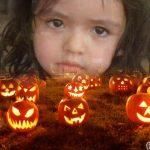 Montaje gratis con calabazas de halloween!