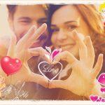 Stikers románticos para tus imágenes del 14 de Febrero!