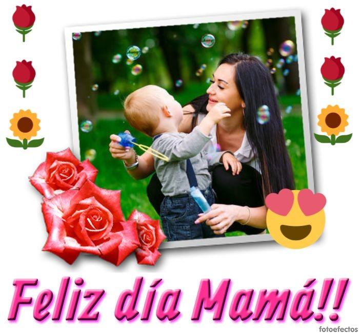 Fotomontajes Para Personalizar Por El Día De La Madre